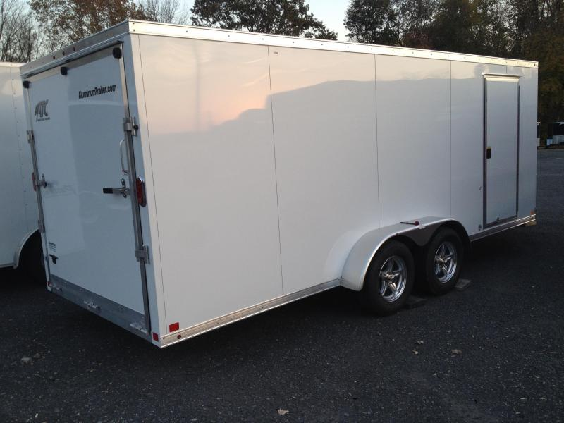 2014 ATC 7x18 Snowmobile Trailer