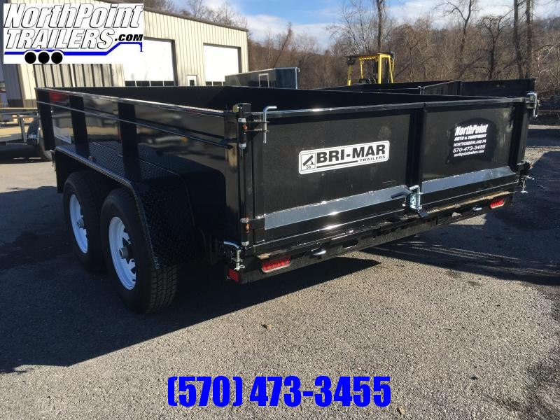 2020 Bri-Mar DT712LP-10K Dump Trailer w/ Ramps