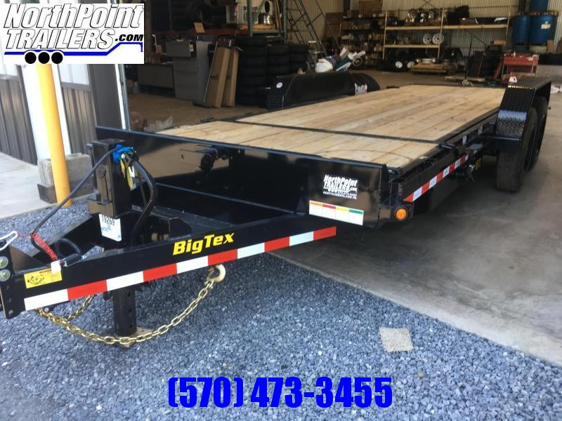 2020 Big Tex Trailers 16TL-20 Tilt Equipment Trailer