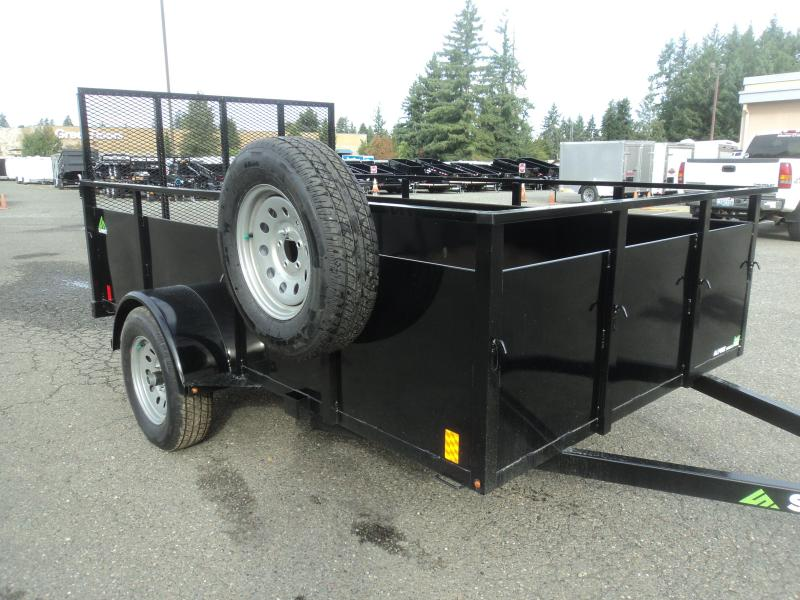 2020 Summit Alpine 6X10 Utility with Spare Tire and Mount