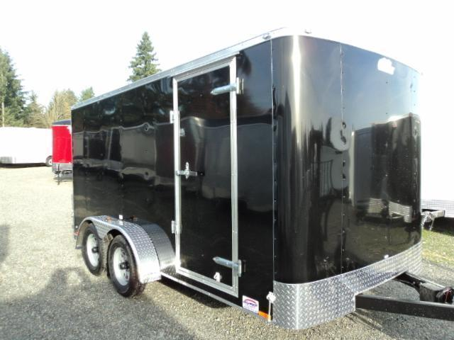 """2020 Cargo Mate Challenger 7X14 7K w/6"""" Extra Height/Ramp/Vent"""