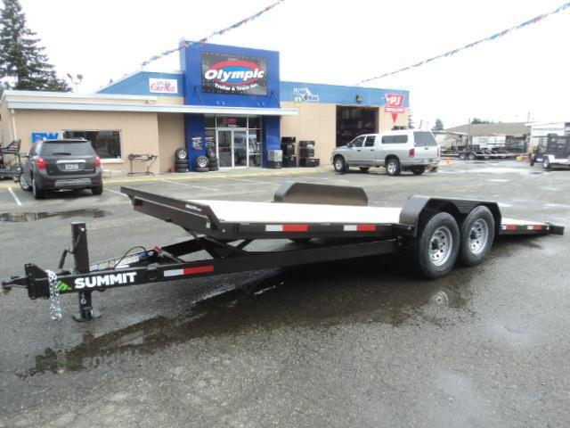 "2018 Summit Denali 6"" 7x20 14K Tiltbed Trailer"