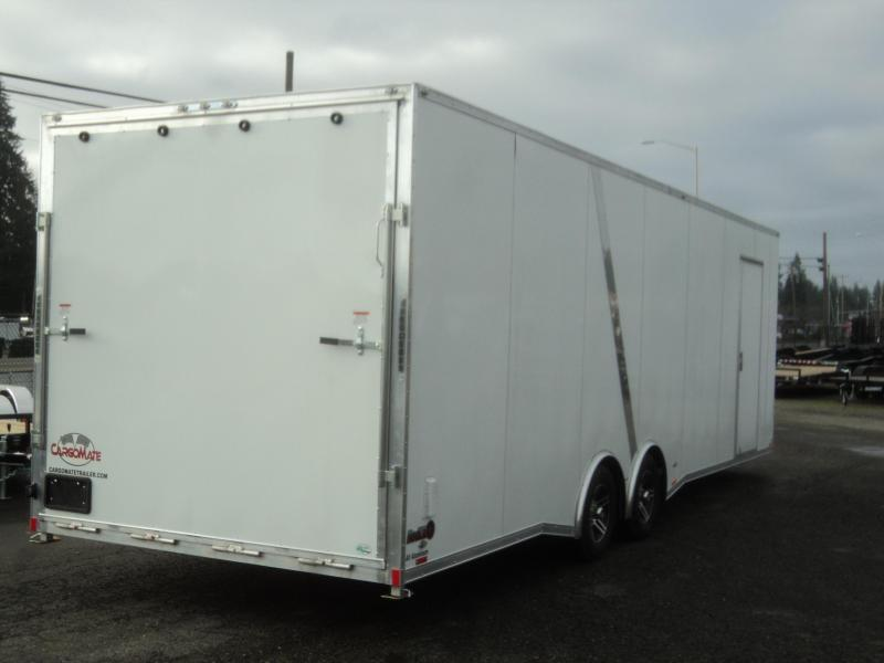 2020 Cargo Mate Aluminum Redline 8.5x28 10K Enclosed Trailer