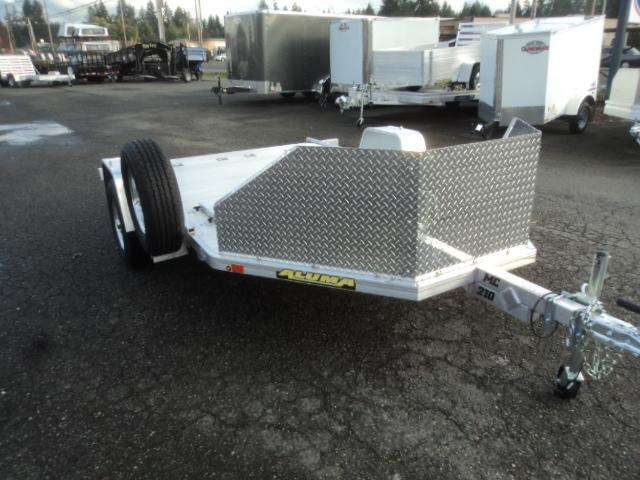 2019 Aluma MC210 w/Spare Tire/Mount+++ Utility Trailer