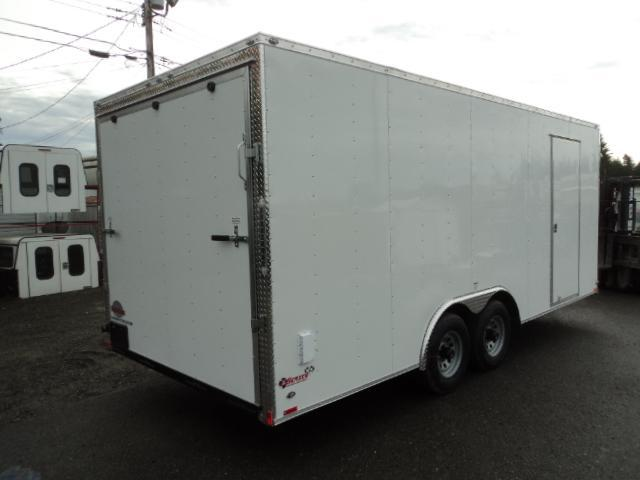 """2018 Cargo Mate E-SERIES 8.5X20 10K w/Ramp/6"""" Extra Height/D-rings"""
