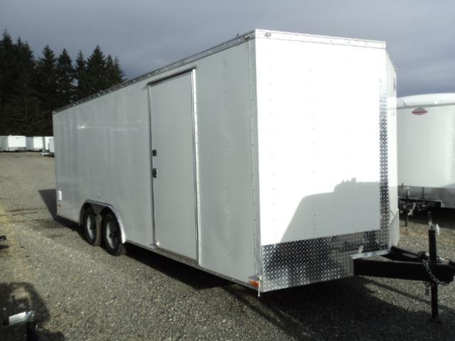 "2020 Cargo Mate E-Series  8.5X20 7K +6"" Height/Ramp Door/D-rings"