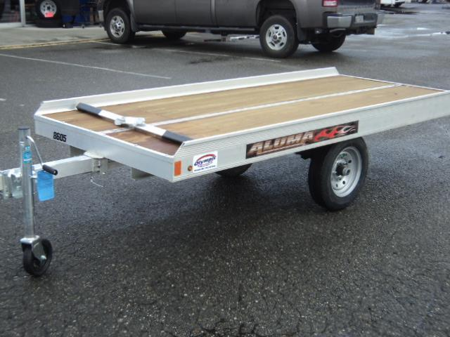 2018 Aluma 8605 Single Place Snowmobile Trailer