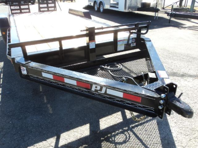 "2018 PJ Trailers 7' x 20' 16k 8"" Pro I-Beam Equipment Trailer"
