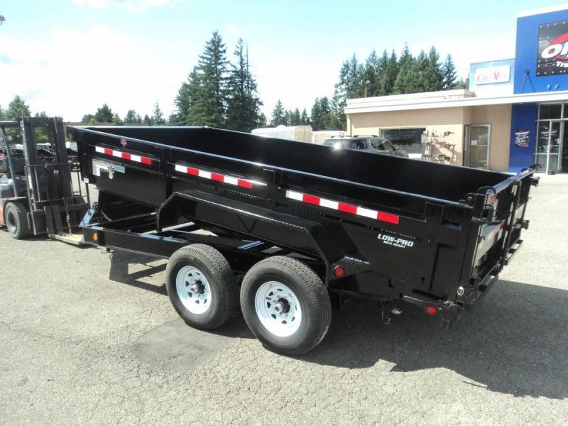 2020 PJ 7x14 14K Dump w/Hydraulic Jack