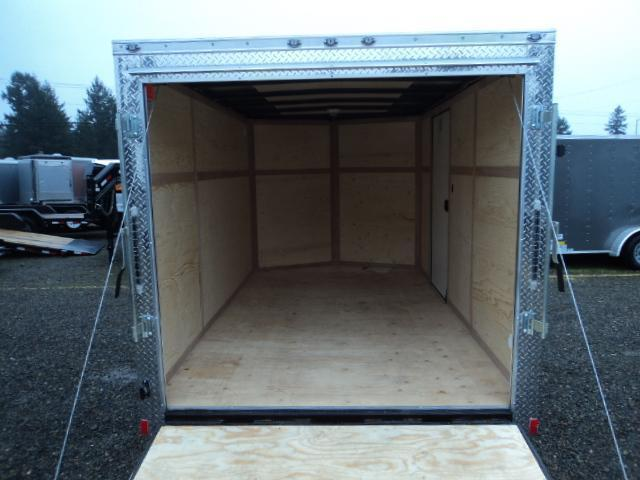 2020 Cargo Mate Trailers 7X12 7k V-Nose w/Rear Ramp Door