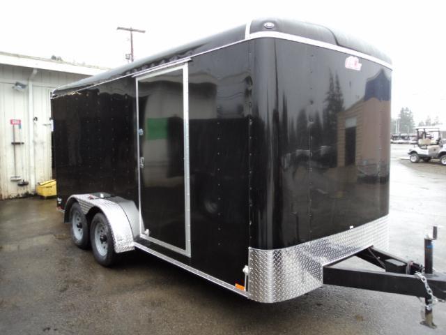 "2019 Cargo Mate Blazer 7X16 7K w/Rear Ramp Door and 6"" Extra Height"