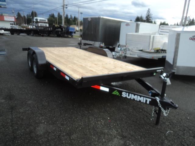 2020 Summit Cascade 7x16 10k Dual Axle Utility Trailer