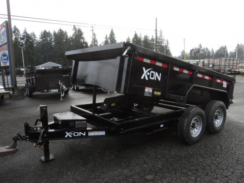 2018 X-On 7x14 14K Dump Trailer w/Tarp Kit/Ramps++