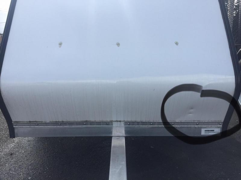 2017 Rance Aluminum 4X6 Cargo Enclosed Utility Trailer