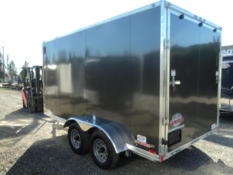 2020 Cargo Mate Aluminum 7x14 7K Enclosed Cargo Trailer