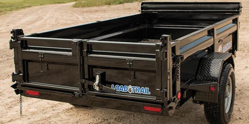 2019 Load Trail 5X8 5K w/Tarp kIt Single Axle Dump