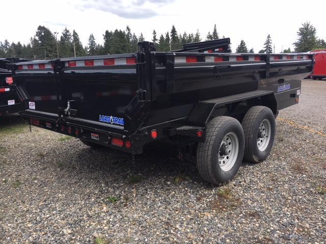 "2017 Load Trail 7X14 14K w/24"" King Size Sides/Ramps/Scissor lift"