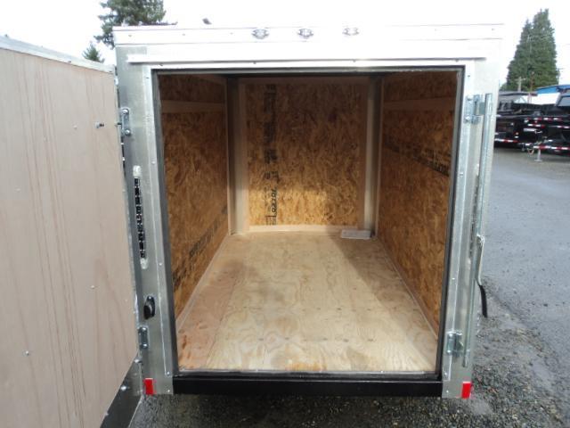 """2020 Cargo Mate Challenger 5x8 w/6"""" Extra Height/Rear Cargo Door"""