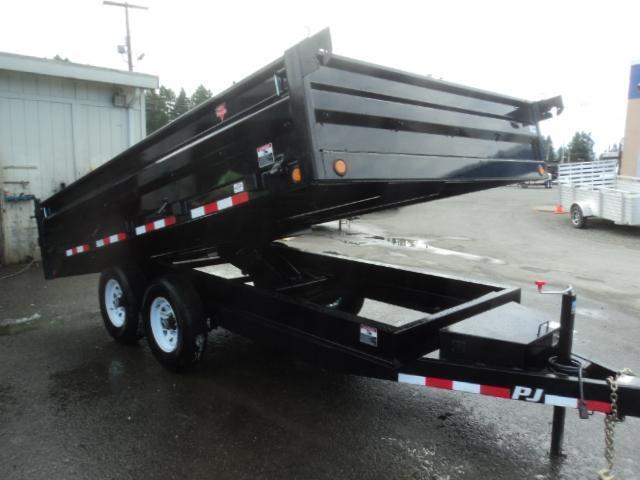 2020 PJ Trailers 8x14 14k Deckover Dump Trailer
