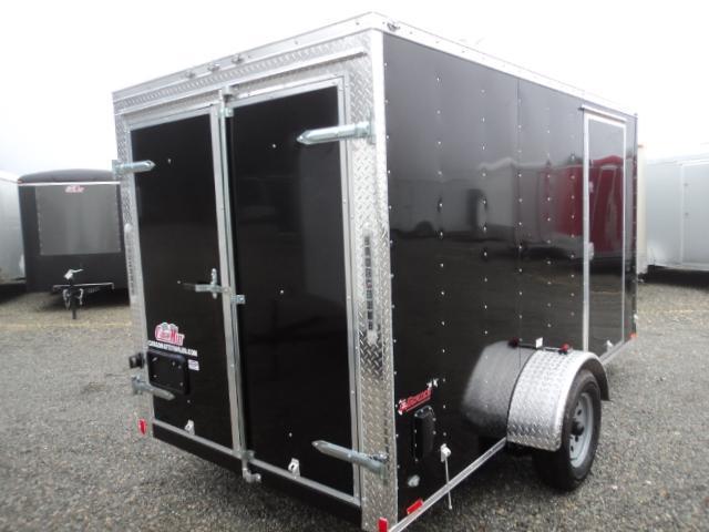 2018 Cargo Mate E-series 6x12 Enclosed Cargo Trailer