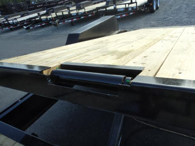 2020 PJ Trailers 7x20 14K Equipment Tilt Trailer W/Winch Plate & Roller