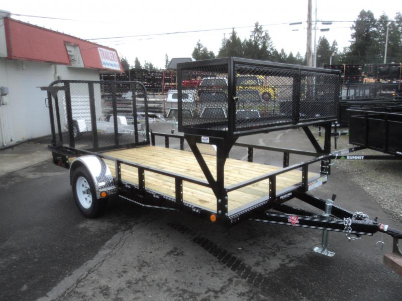 2019 PJ Trailers 6.5X12 Utility w/Landscape Package and LED Light Upgrade