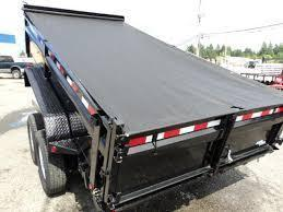 2018 Load Trail 7X14 14K Tandem Axle Dump w/Tarp Kit/Ramps/Scissor lift