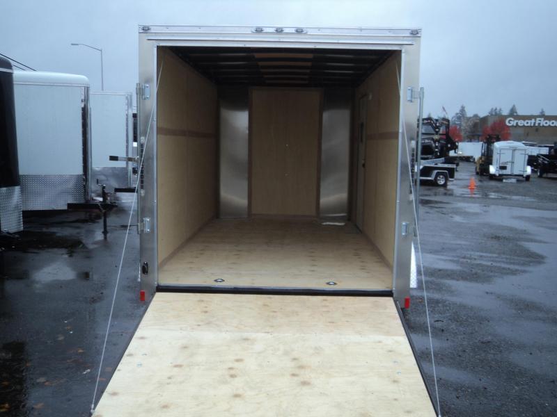 2019 Cargo Mate Challenger 7X16 7K W/Rear Ramp Door