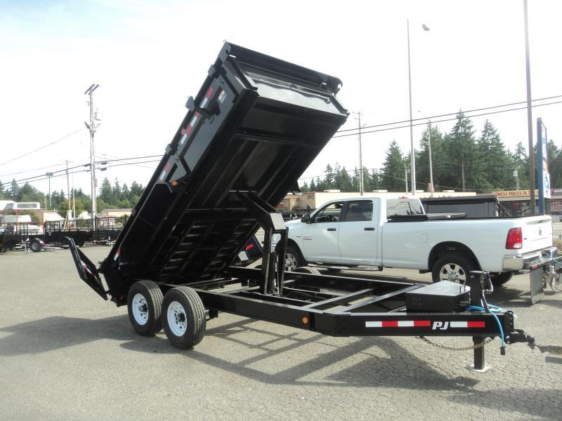 2020 PJ 7x14 14K w/Heavy Duty 7 Gauge Steel Bed/G-Tires/10k Jack Tarp Kit