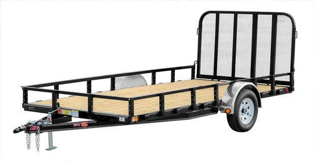 2018 PJ Trailers 7X14 utility with fold up gate