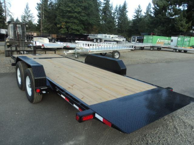2020 PJ Trailers 7x20 14K Equipment Tilt Trailer W/Winch Plate & Roller