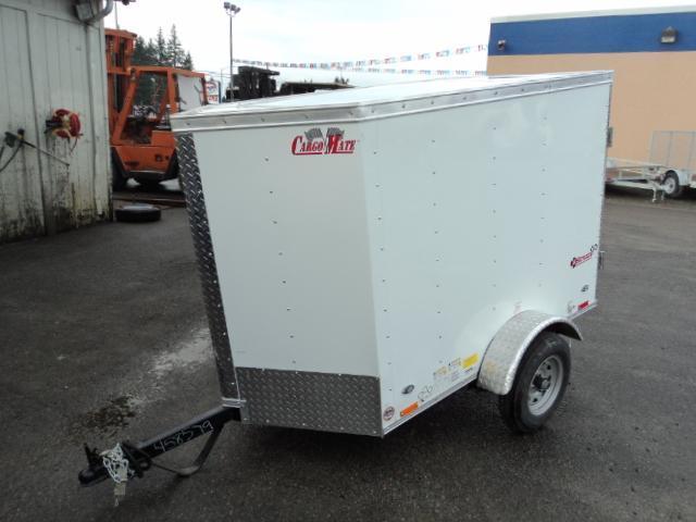 2019 Cargo Mate E-series 4X6 Enclosed Utility Trailer