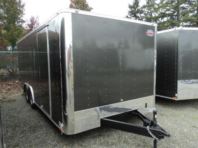 2020 Cargo Mate E-SERIES 8.5X20 7k w/Escape Door/Ramp/Extra Height++