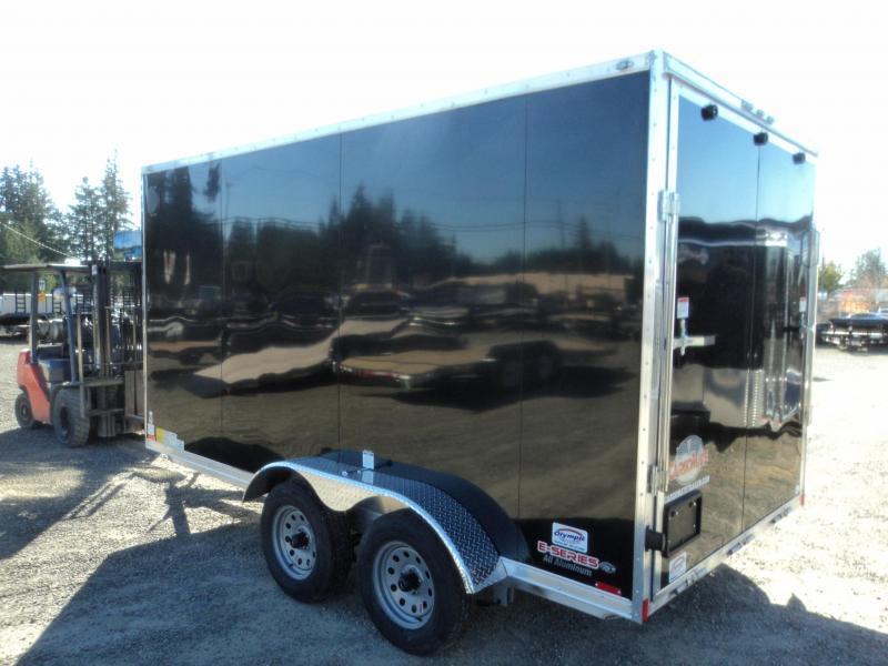 2020 Cargo Mate Aluminum 7x14 7K w/Extra Height/Ramp+