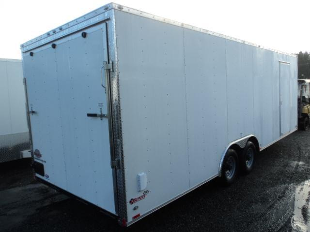 """2018-Cargo Mate E-series 8.5x24 10K w/12"""" Extra Height and D-Rings"""