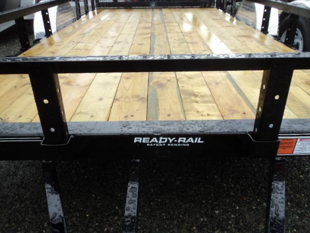 2020 PJ Trailers 7x16 7K Utility Trailer w/Heavy Duty Fold-up Gate