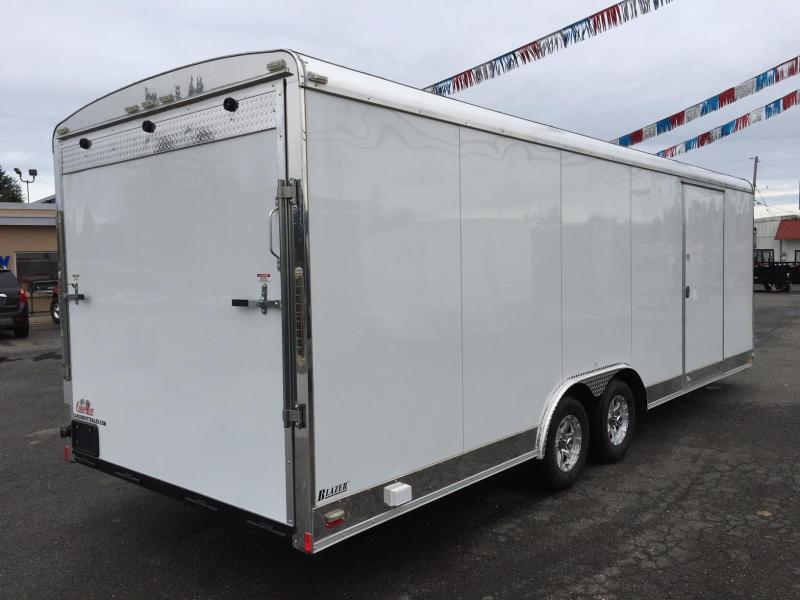 "2019 Cargo Mate Blazer Car Hauler 8.5x24 10K w/6"" Additional Height++++"