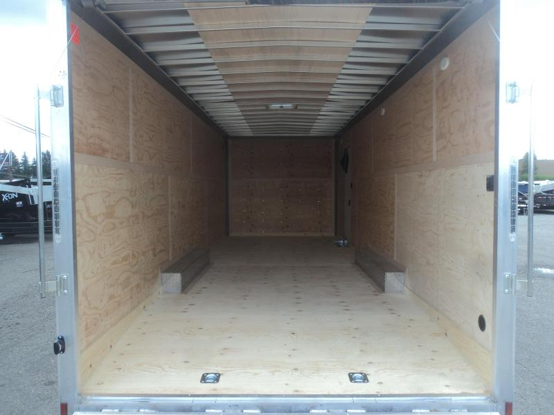 2020 Cargo Mate Aluminum 8.5x24 7K with Extra Height+++