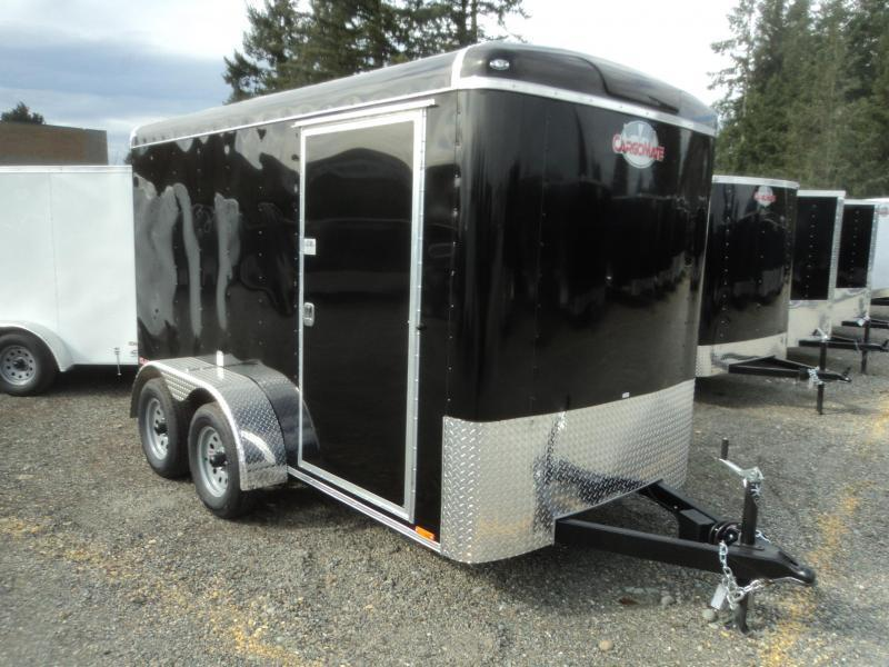 2020 Cargo Mate Blazer 6X12 7K Tandem Axle Cargo / Enclosed Trailer