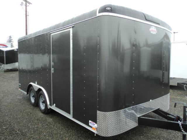 2018 Cargo Mate Blazer 8.5x16 7K w/Rear Ramp door