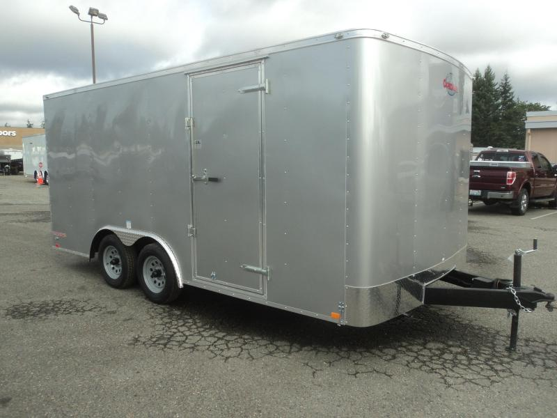2020 Cargo Mate Challenger 8.5x16 7K w/Rear ramp door/Vent