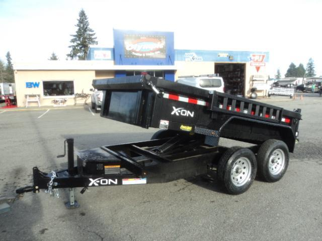 2019 X-On 5X10 7K Dump Trailer w/Tarp Kit/Ramps++