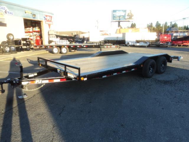 2020 PJ Trailers 8.5X20 10K Buggy Hauler w/Winch plate/Black Wheel upgrade