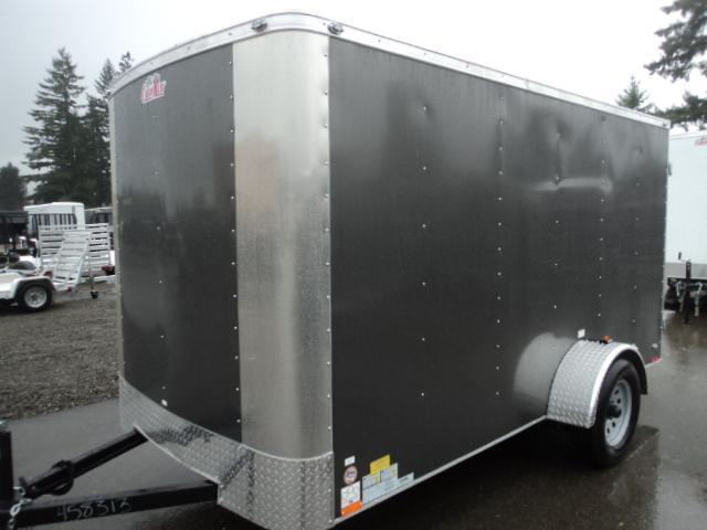 """2020 Cargo Mate Challenger 6X12 w/6"""" Extra Height & Rear Ramp Door/Vent"""