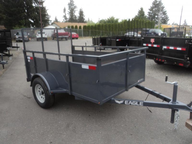 2019 Eagle Falcon 5x8 Utility Trailer