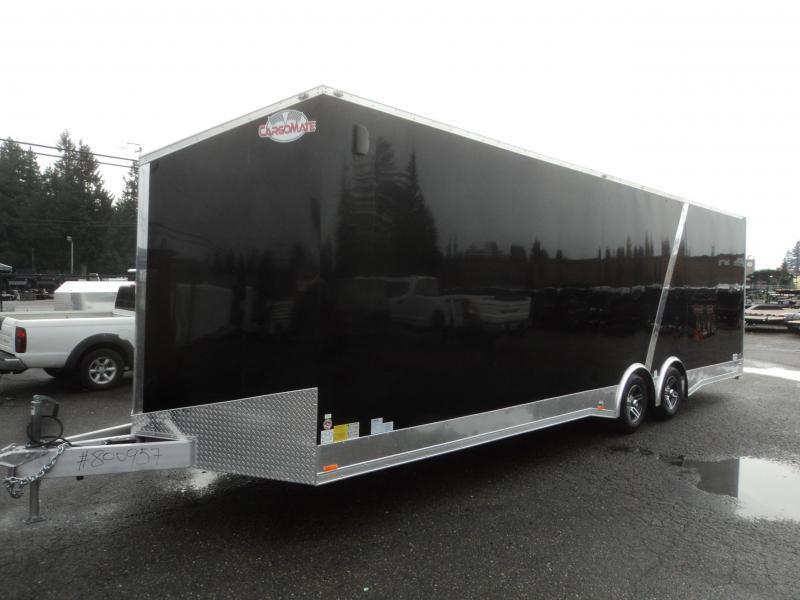 2020 Cargo Mate Aluminum Redline 8.5x28 10K Enclosed Trailer