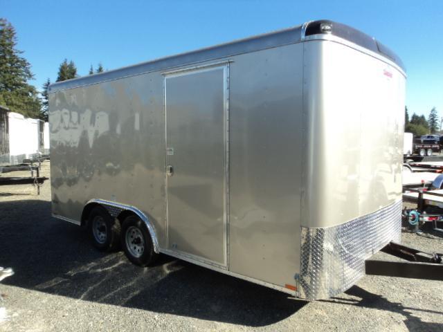 2019 Cargo Mate Blazer 8.5x16 7K w/Rear Ramp door