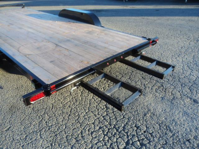 2019 Summit Alpine 7x16 7K Flatbed w/Spare Tire and Mount