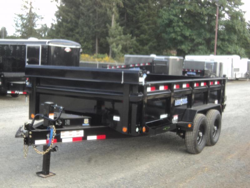 "2019 Load Trail 7X14 14K w/Tarp Kit/24"" sides/10K JACK/8 Amp Charger/Max Step"