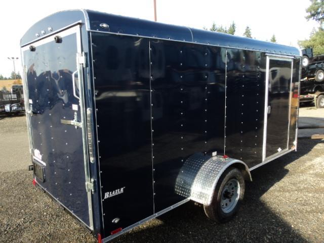 2020 Cargo Mate Blazer 6X12 w/Rear Ramp and RV Side Door